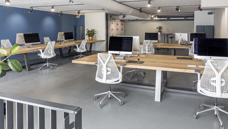 Ons bureau aan het Westerdok in Amsterdam